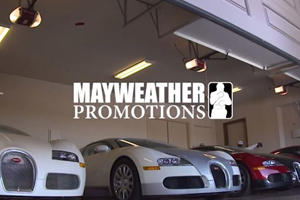 Floyd Mayweather's Driver Shows Off $10 Million Worth Of Supercars In Under 2 Minutes