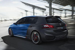 This Peugeot Concept is Hot Hatch Hybrid Heaven