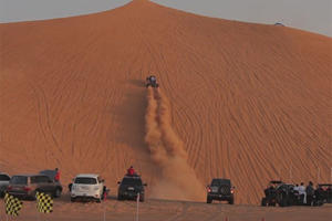 Giving A Giant Middle Finger To Physics Is The Best Way To Off-Road