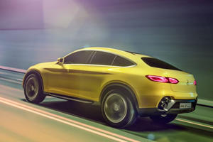 The Mercedes Concept GLC Coupe Is The Crossover That Really Wants To Be An SUV