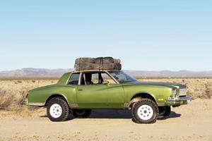 Watch A Monte Carlo Lowrider Become An Insane Off-Roader