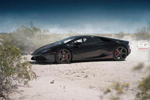 Do This Huracan's New Shoes Make The Perfect Supercar Outfit?