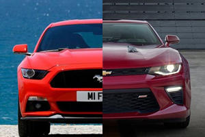 All-New 2016 Camaro Vs. 2015 Mustang: The Battle Continues