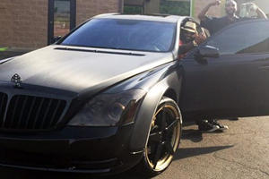 Why Was This NFL Player's Maybach Abandoned On The Road?