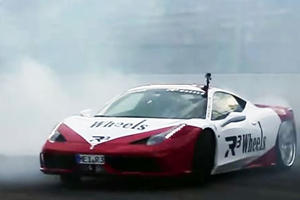 Now This Is How You Do Victory Donuts In A Supercar