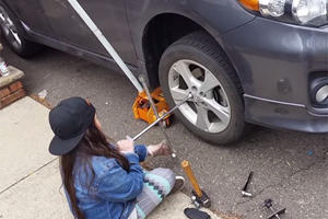 This 7-Year-Old Girl Is A Future Mechanic