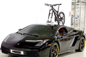 Would You Mount Your Bicycle On A Supercar?