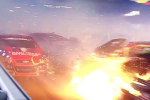 This Is What It's Like When A Car Wrecks In Your Face From 3 Angles