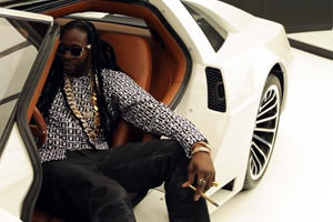 2 Chainz Smoking Weed In A $500K DeLorean Is The Best Thing You'll See All Day