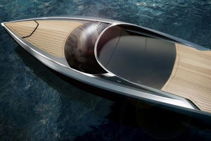 Aston Martin's Newest Model Measures 37 Feet And Will Never See Dry Land