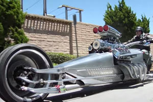 This 1,000 Horsepower Tricycle Is Faster Than An Aventador