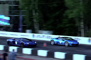 This Huracan Vs. Aventador Race Video Almost Embarrassed The Hell Out Of Lamborghini