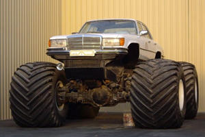 9 Cars That Look Pretty Ridiculous Riding On Massive Wheels