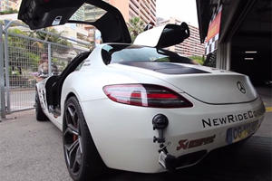 Mercedes SLS AMG Has The Voice Of An Angel
