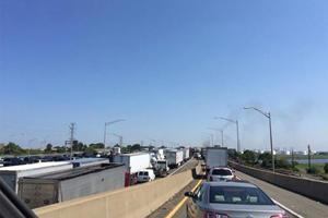 A Deadly Dump Truck Crash Shut Down The New Jersey Turnpike For 12