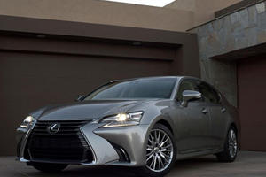 Lexus Shows Off Its New GS At Pebble Beach: Is Its Grille Out Of Control?