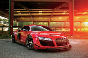 Is This Insane Custom Job A Fitting Send Off For The First Audi R8?