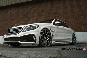 This Might Be One Of Wildest Looking S-Class Sedans We've Ever Seen