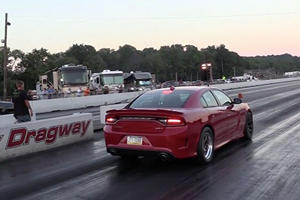 Can This Dodge Hellcat Charger Beat It's Own Quarter Mile Time?