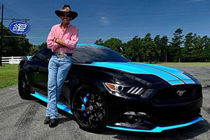 This NASCAR Legend Has Donated This One-Off Mustang For Charity