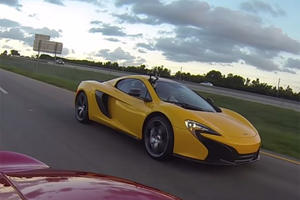 Even With 700HP, This Ford GT Can't Handle The McLaren 650S