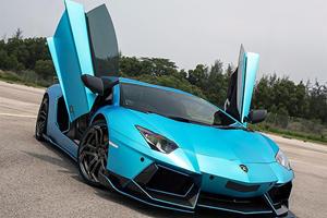 A Novitec-Liberty Walk Lamborghini Aventador Is The Best Idea Ever