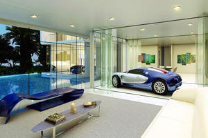 This Bugatti-Inspired House Is What Car Guy Dreams Are Made Of