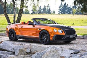 Mansory's Frankfurt Bentley Continental GTC Is A 1,000-HP Chrome Pumpkin