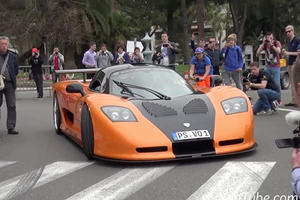 Watch This American-Built Supercar Tear Up The Streets Of Monaco