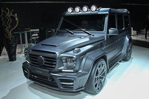 Mansory Turned The Mercedes-Benz G63 AMG Into An Extinct Dinosaur