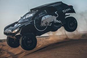 Peugeot Creates Ultimate Dakar Rally Monster