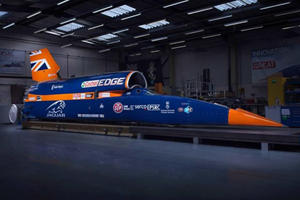 The 1,000-MPH Bloodhound Is More Powerful Than 100 Koenigseggs