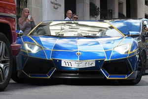 Tron Aventador Owned By Saudi Diplomat Gets Damaged In Paris