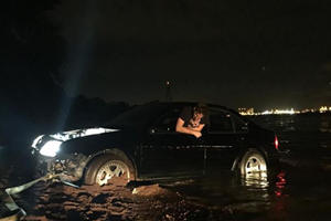This Guy Took His Stanced Jetta To The Beach And Watched It Drown 29552