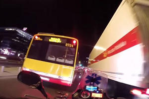 Intense POV Video Shows Just How Badass Motorcycle Paramedics Are