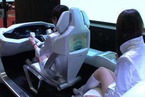 Mitsubishi's Outrageous Emirai 3 xDAS Concept Records Your Face At All Times