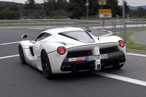 How To Do A Perfect Little Powerslide In A Beautiful LaFerrari