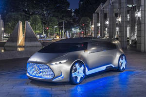 The New Mercedes-Benz Autonomous Concept Is Absolutely Breathtaking
