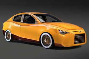 Scion Turned One Of Its Most Boring Cars Into An Outrageous Lowrider For Sema