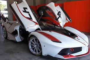 Here's What It's Like To Drive A 1035 HP Ferrari FXX K