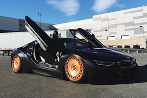 Is This The First BMW i8 'Lowrider' In The World?