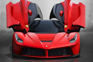 The LaFerrari's Perfect License Plate Is Going To Auction For Silly Money