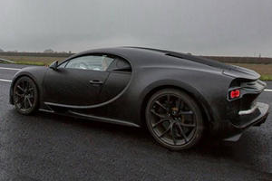 Bugatti Definitely Didn't Expect This To Happen To Its Chiron Test Mules