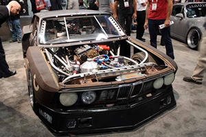 Why Is This Slammed And Rusty As Hell BMW At SEMA?