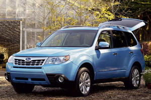 2011 Subaru Forester Debuted on the Internet
