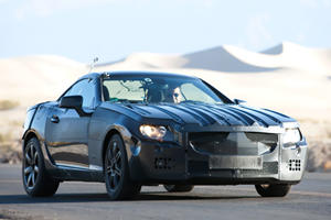 Mercedes-Benz Releases its Own 2012 SLK Spy Shots