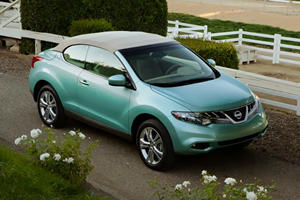 Official: 2011 Nissan Murano CrossCabriolet Revealed