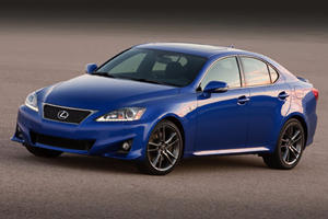 First Look: 2011 Lexus 350 IS F Sport