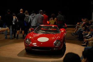 Italian Racing Red Demo Day at Simeone Foundation Auto Museum