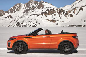 The 2016 Range Rover Evoque Convertible Has Arrived...In Time For Winter
